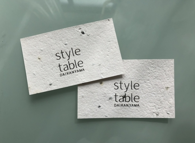 style table